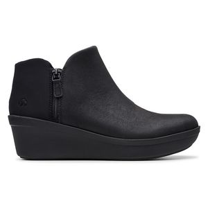 Clarks Step Rose Up Wedge Bootie